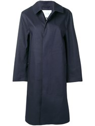 Mackintosh Classic Trench Coat Blue