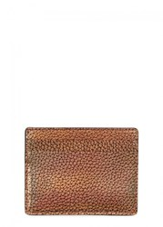 Paul Smith Bronze Grained Leather Card Holder