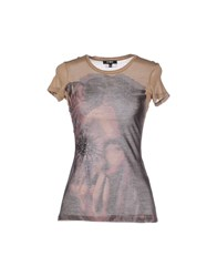 Cnc Costume National C'n'c' Costume National Topwear T Shirts Women Camel