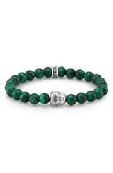 Room101 Men's Room 101 Malachite Bead Bracelet Green