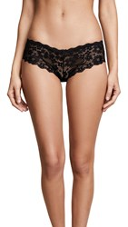 Honeydew Intimates Camellia Lace Hipster Black