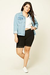 Forever 21 Plus Size Stretch Knit Shorts