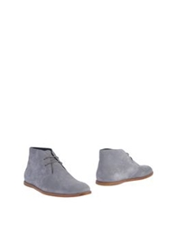 Opening Ceremony Ankle Boots Light Grey