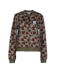 Wesc Sweatshirts Military Green
