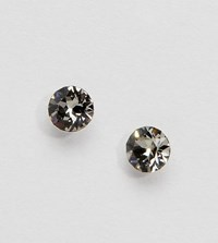 Accessorize Sterling Silver Grey Swarovski Stud Earrings
