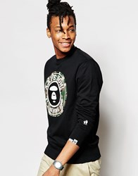 Aape By A Bathing Ape Crew Neck Sweatshirt Black