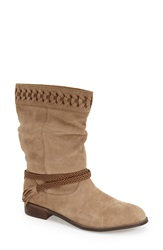 Very Volatile 'Bynes' Boot Women Stone Suede