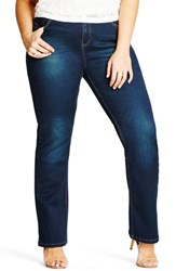 City Chic Plus Size Women's Harley Bootcut Jeans Denim Mid