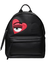 Chiara Ferragni Medium Flirting Faux Leather Backpack
