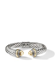 David Yurman Cable Classics Detailed 14Kt Yellow Gold 10Mm Cuff S4bgg