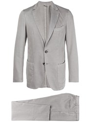Dell'oglio Classic Two Piece Suit Grey