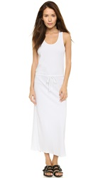 Theory Ghimi Classic Tee Maxi Dress White