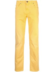 J Brand Tyler Fit Jeans Yellow