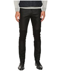 Belstaff Blackrod Regular Fit Raw Stretch Motor Denim In Black Black Men's Jeans