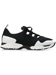 Marni Cut Out Detail Sneakers Black