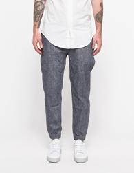 Shades Of Grey Woven Jogger Indigo Chambray