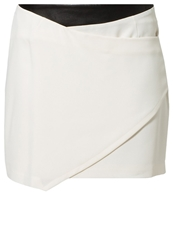 Rebecca Minkoff Lydia Mini Skirt Powder White