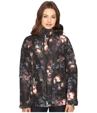 Burton Radar Jacket Lowland Floral Women's Coat Black