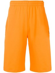 Kenzo Elasticated Waistband Shorts Orange