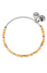 Alex And Ani Women's Marigold Adjustable Wire Bangle