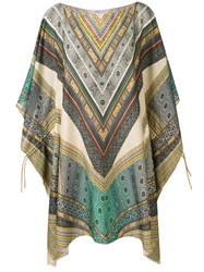 Parah Pareo Multi Patterned Kaftan Neutrals