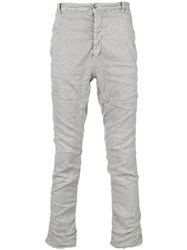 Poeme Bohemien Unseen Pocket Trousers Grey