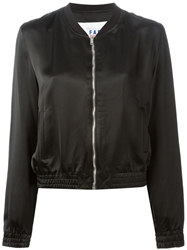Filles A Papa 'Dallas' Bomber Jacket Black