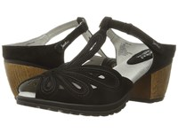 Jambu Sahara Black Women's Wedge Shoes