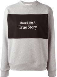 Etre Cecile Etre Cecile 'True Story' Sweater Grey