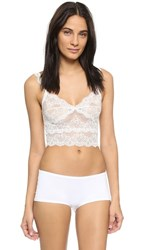 Only Hearts Club So Fine Lace Cropped Camisole Creme