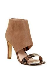 Louise Et Cie Footwear Zinna Ankle Cuff High Heel Sandal Brown