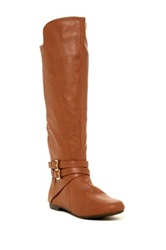 Fergalicious Rodeo Knee High Boot Brown