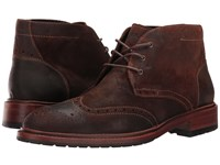 Trask Lawson Snuff Oiled Suede Men's Flat Shoes Bronze