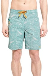 Patagonia Men's Wavefarer Board Shorts True Teal