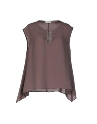 List Topwear Tops Women Khaki
