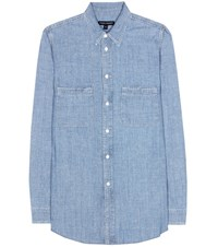 Citizens Of Humanity Julia Cotton Shirt Blue