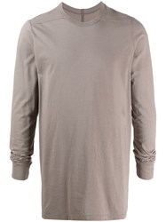 Rick Owens Long Sleeve Fitted Top Green