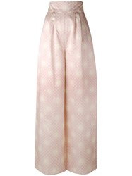 Alistair James Moonstruck Palazzo Pant Women Silk Bamboo 6 Pink Purple