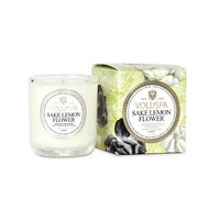 Voluspa Maison Jardin Boxed Votive Sake Lemon Flower