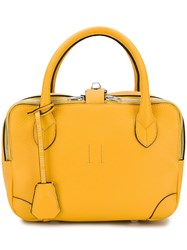 Golden Goose Deluxe Brand Zip Around Tote Yellow