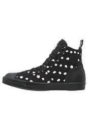 G Star Gstar Falton Wmn Twill Hightop Trainers Black
