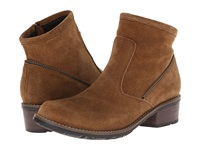 Wolky Vernon Bison Greased Suede Women's Boots Tan