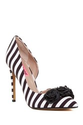 Betsey Johnson Aidenn Floral Half D'orsay Pump Multi