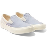 Converse Deck Star 67 Canvas Slip On Sneakers Blue