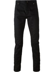 Saint Laurent Classic Slim Jeans Black