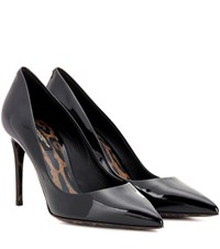 Dolce And Gabbana Kate Patent Leather Pumps Black