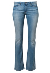 Wrangler Catrin Bootcut Jeans Blue Note Light Blue