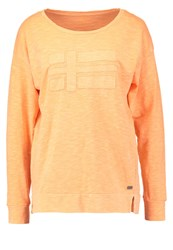Napapijri Boxley Long Sleeved Top Mango Juice Orange