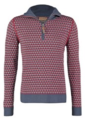 Petrol Industries Jumper Maroon Bordeaux