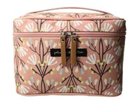 Petunia Pickle Bottom Glazed Travel Train Case Blissful Brisbane Wallet Pink